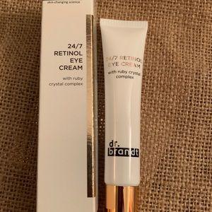 Dr. Brandt 24/7 Retinol Eye Cream.
